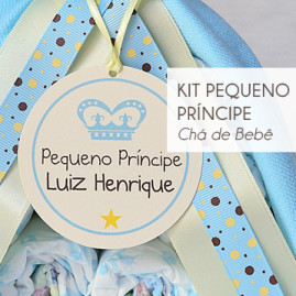 Kit Chá de Bebê Pequeno Príncipe