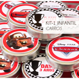 KIT FESTA INFANTIL CARROS KIT1
