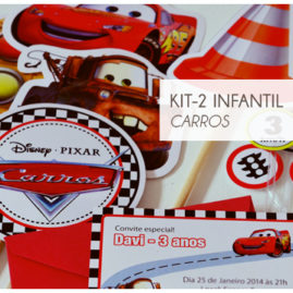 KIT FESTA INFANTIL CARROS KIT2