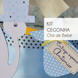 Kit Chá de Bebê Cegonha