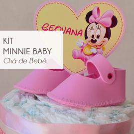 Kit Chá de Bebê Minnie Baby