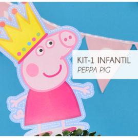 KIT FESTA INFANTIL PEPPA PIG