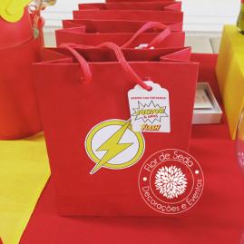 Kit Festa Infantil Flash - Sacolinhas para lembranças