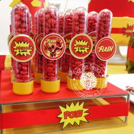 Kit Festa Infantil Flash - Tubetes