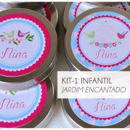 KIT FESTA INFANTIL JARDIM ENCANTADO KIT1