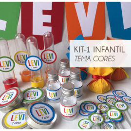 KIT FESTA INFANTIL COLORIDA