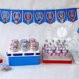 Kit festa infantil Patrulha Canina