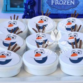 Kit festa infantil Frozen - Latinhas Olaf