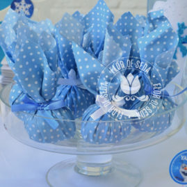 Kit festa infantil Frozen - Trouxinhas de bombom Sonho de Valsa