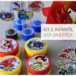 KIT FESTA INFANTIL LIGA DA JUSTIÇA KIT2