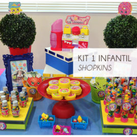 KIT FESTA INFANTIL SHOPKINS