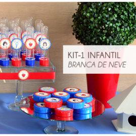 KIT FESTA INFANTIL BRANCA DE NEVE