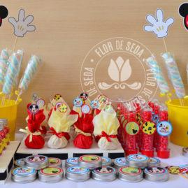 Kit Festa Infantil Mickey Mouse - Azul