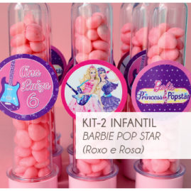 KIT FESTA INFANTIL BARBIE POP STAR KIT2