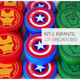 KIT FESTA INFANTIL OS VINGADORES KIT1