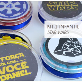 KIT FESTA INFANTIL STAR WARS