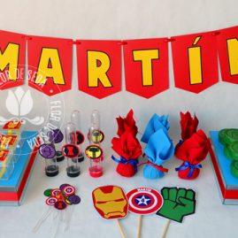 Kit festa infantil Os Vingadores (The Avengers)