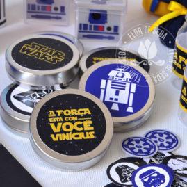Kit festa Star Wars - latinhas em alumínio