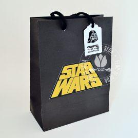 Kit festa Star Wars-Sacola personalizada