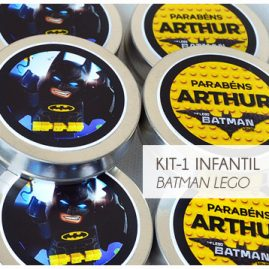 KIT FESTA INFANTIL BATMAN LEGO KIT1