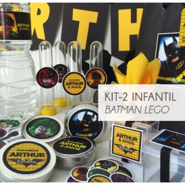 KIT FESTA INFANTIL BATMAN LEGO KIT2