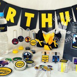Kit festa infantil Batman Lego