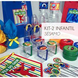 KIT FESTA INFANTIL SESAMO KIT2