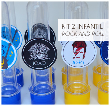 KIT FESTA INFANTIL ROCK AND ROLL KIT2