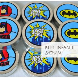 KIT FESTA INFANTIL BATMAN KIT1