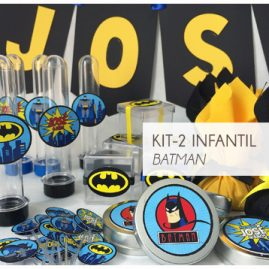 KIT FESTA INFANTIL BATMAN KIT2