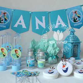 Kit festa infantil Frozen Fever