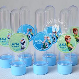Kit festa infantil Frozen Fever-Tubetes