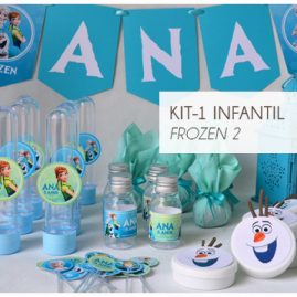 KIT FESTA INFANTIL FROZEN FEVER KIT1