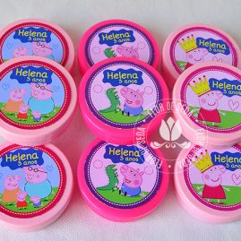 Kit festa infantil Peppa Pig-latinhas