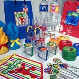 Kit festa infantil Sesamo