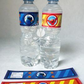 Kit festa infantil Sesamo-Rótulo de água