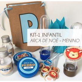 KIT FESTA INFANTIL ARCA DE NOÉ MENINO-KIT1
