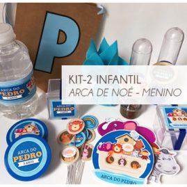 KIT FESTA INFANTIL ARCA DE NOÉ MENINO-KIT2
